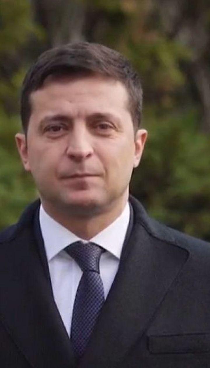Зеленский в видеообращении поздравил украинских военных с Днем ВСУ