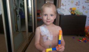 Негайної допомоги потребує 4-річний Аркадій