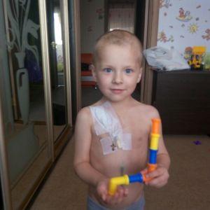 В немедленной помощи нуждается 4-летний Аркадий