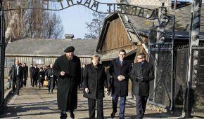 Меркель вперше на посаді канцлерки Німеччини відвідає Освенцим