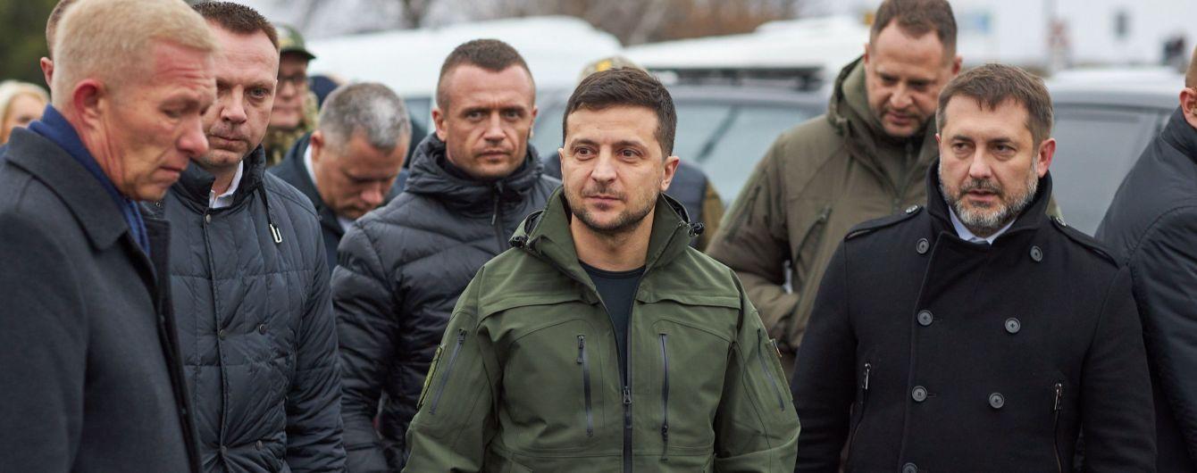 Украина не разговаривает с боевиками – Зеленский