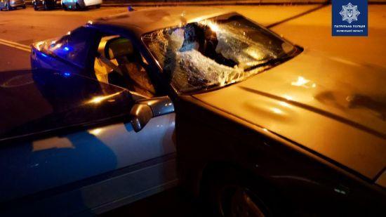 У Луцьку з гонитвою затримали п'яних чоловіків у BMW, які на смерть збили жінку