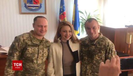 Тина Кароль на передовой поздравила военных с Днем ВСУ