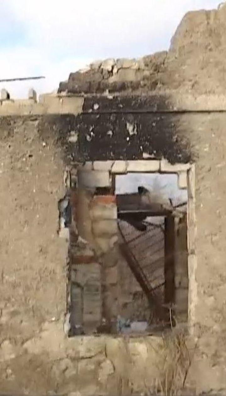 Бойовики з артилерії обстріляли позиції навколо Авдіївки