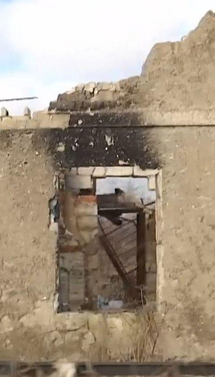 Боевики из артиллерии обстреляли позиции вокруг Авдеевки