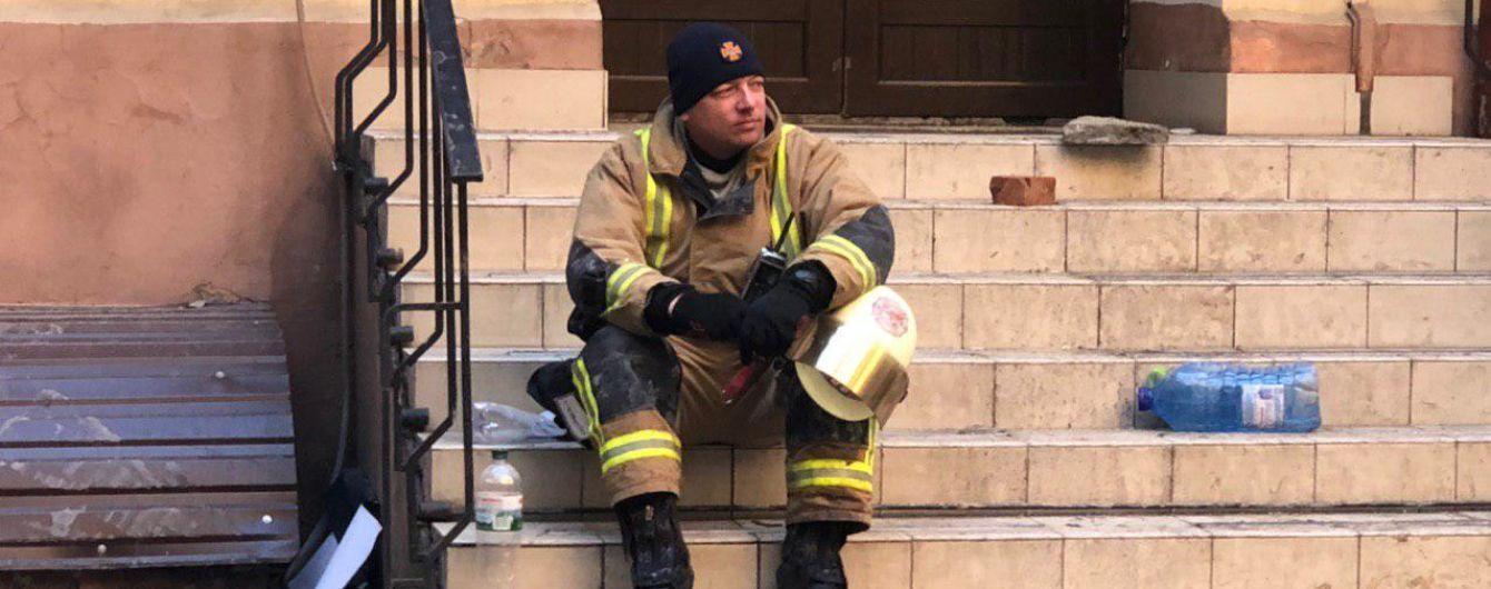В Одесском колледже не была установлена пожарная сигнализация