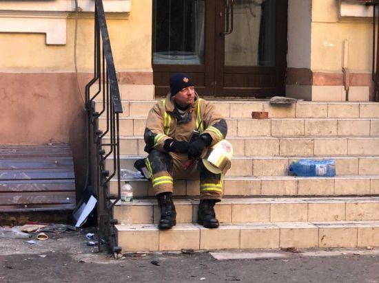 В Одеському коледжі не була встановлена пожежна сигналізація