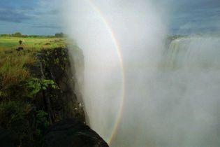 В Африке засыхает известный водопад