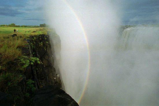 В Африці засихає відомий водоспад