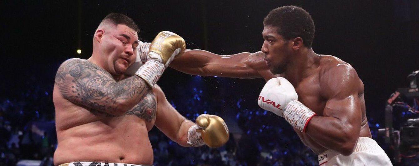 Джошуа в бою-реванші переміг Руїса та повернув чемпіонські пояси