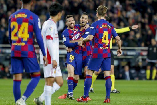 """Хет-трик Мессі дозволив """"Барселоні"""" знищити """"Мальорку"""", аргентинець побив рекорд Роналду"""