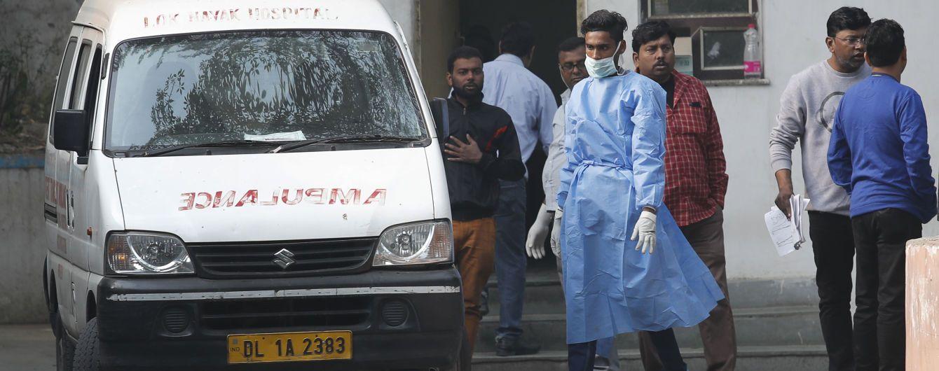 В Индии во время пожара на фабрике погибли 43 человека