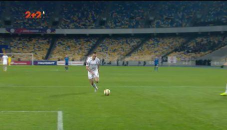 Динамо – Заря - 0:1. Видео гола Михайличенко