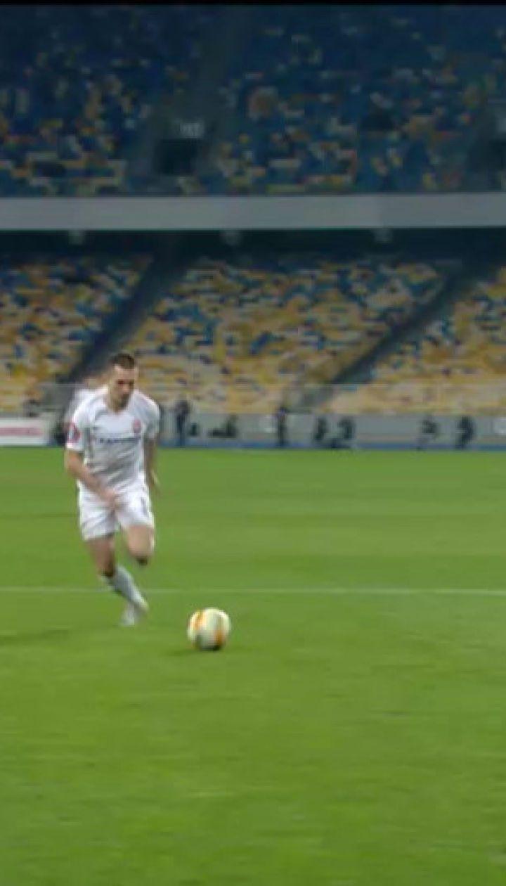 Динамо – Зоря - 0:1. Відео голу Михайличенка