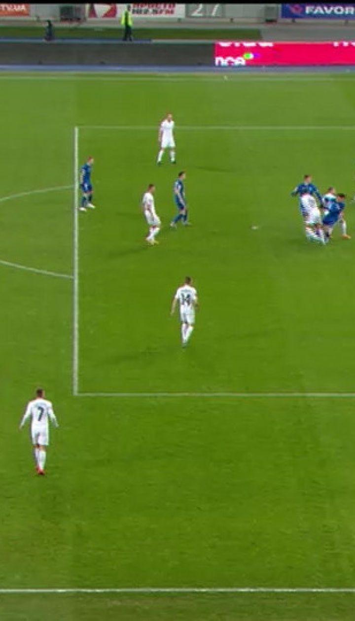 Динамо – Зоря - 1:1. Відео голу Вербича