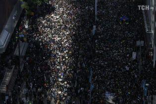 В Гонконге прошел крупнейший за последние месяцы митинг оппозиции