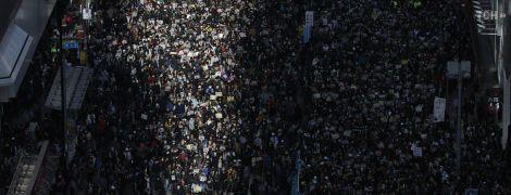 У Гонконзі відбувся найбільший за останні місяці мітинг опозиції