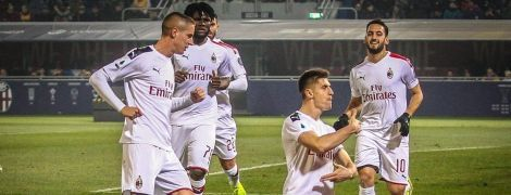"""Два пенальти и автогол. """"Милан"""" в зрелищном матче победил """"Болонью"""" в Серии А"""