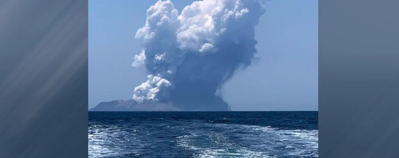 В Новой Зеландии в результате извержения вулкана погибли 5 человек, десятки пропали без вести