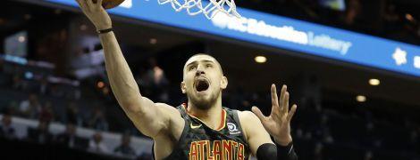 Украинец Лень выдал яркую игру в матче НБА