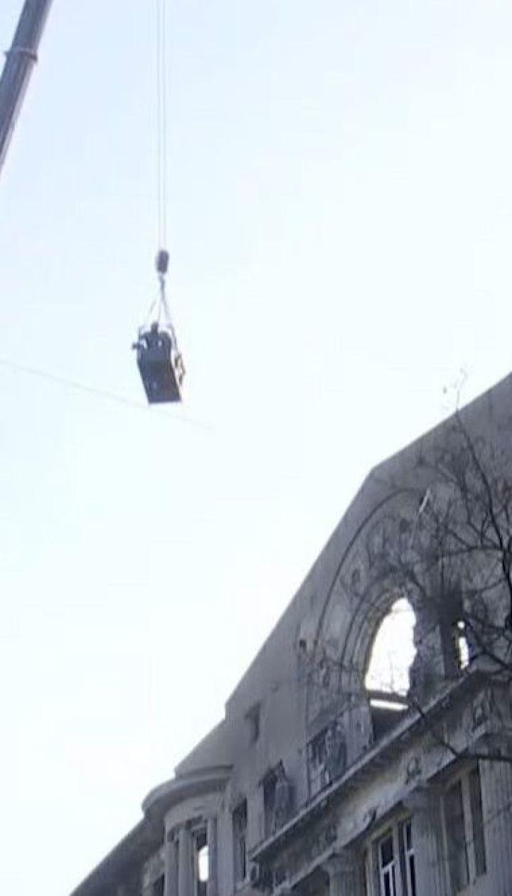 Число погибших в результате пожара в Одесском колледже увеличилось до 12
