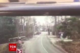 На Київщині автомобіль збив дітей і влетів у стовп