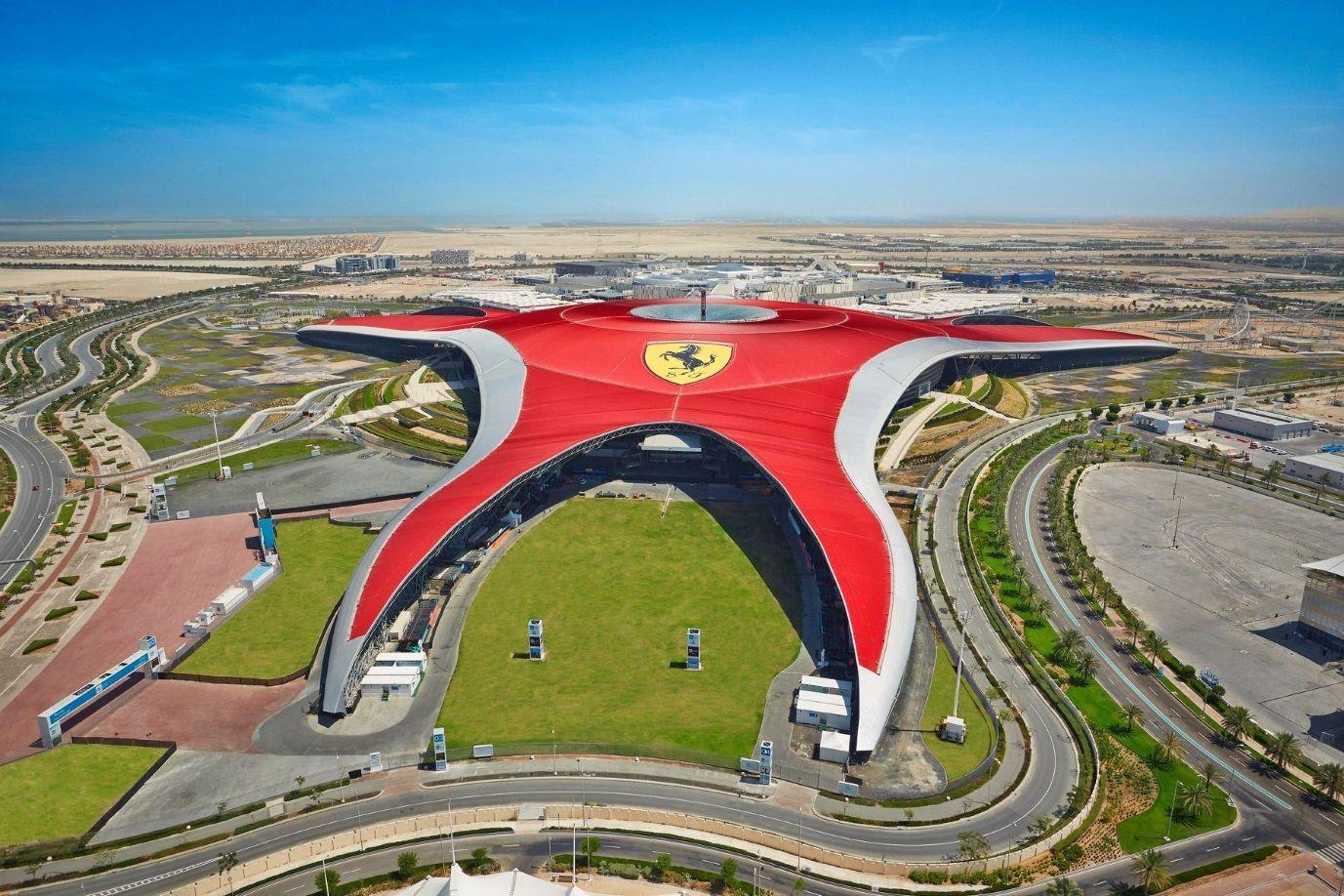 парк развлечений 2019  Ferrari World