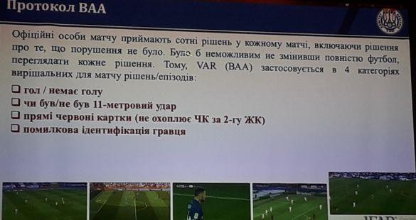 Ситуації застосування VAR