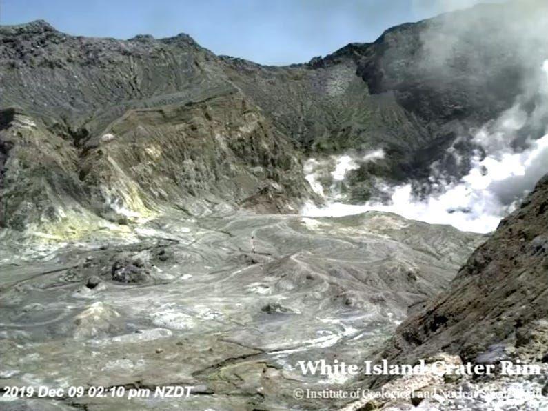 Виверження вулкану Нова Зеландія веб-камера