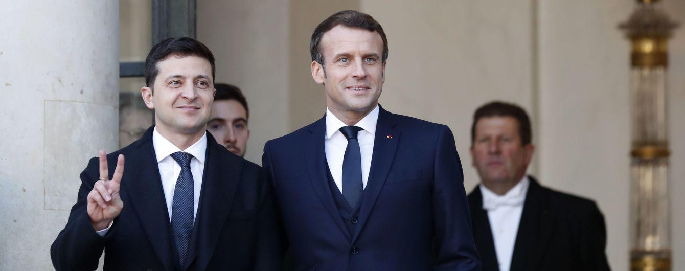 """Лидеры всех стран-участниц """"нормандского саммита"""" прибыли в Елисейский дворец. Путин приехал последним"""