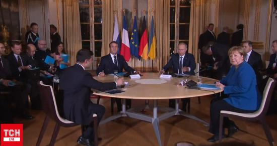 """""""Нормандський"""" вечір. Путін і Зеленський матимуть окрему зустріч без Меркель та Макрона"""