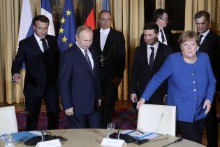 """""""Нормандський"""" саміт у Парижі завершився. Хронологія зустрічі"""