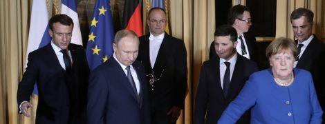 """Зеленский раскрыл интригу, пожал ли руку Путину во время """"нормандского саммита"""""""