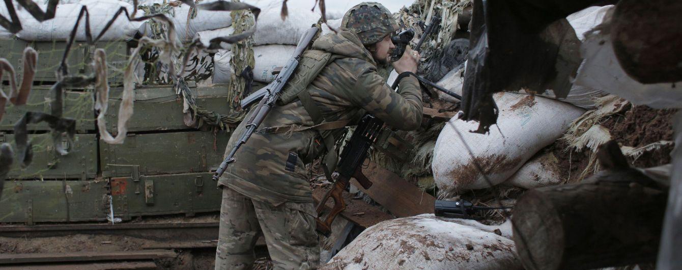 Российские наемники на Донбассе обстреляли украинские позиции из гранатометов и БМП