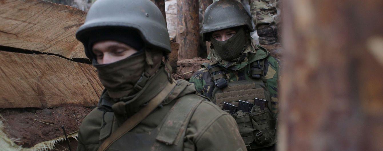 Террористы 11 раз стреляли из запрещенного оружия на Донбассе