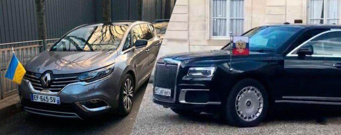 """Aurus, Mercedes и Renault: на каких авто приехали лидеры """"нормандской четверки"""" на саммит к Елисейскому дворцу"""
