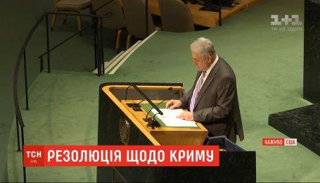 Вивести війська та повернути полонених: у США ухвалили резолюцію про мілітаризацію Криму