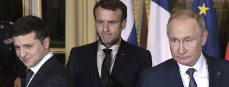 Исторический момент. Первая личная встреча Зеленского и Путина в фото
