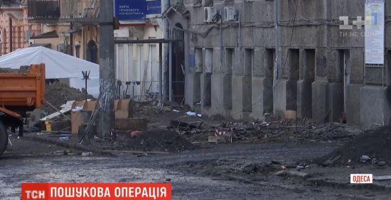 В Одесі досі шукають загиблих у пожежі в коледжі