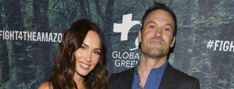 В откровенном бельевом луке: Меган Фокс пришла с мужем на светское мероприятие