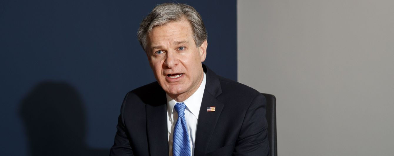 Директор ФБР заявил, что Украина не вмешивалась в американские выборы