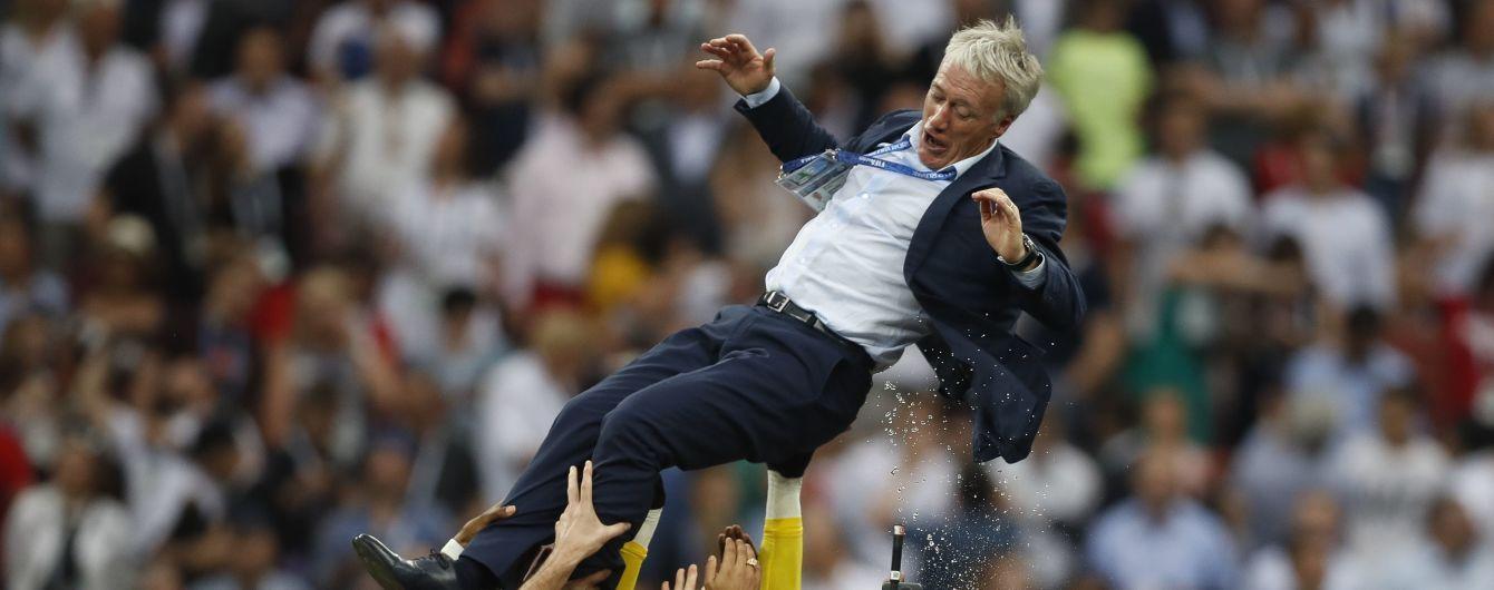 Франція подовжила контракт з тренером, який виграв ЧС-2018