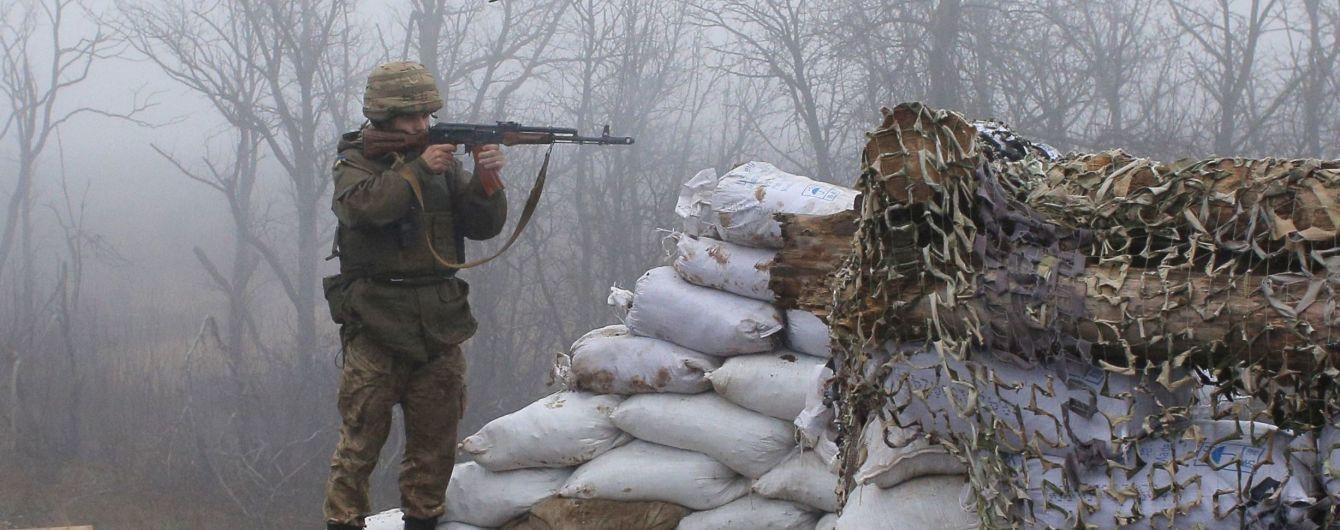 Сутки на фронте: боевики нарушили режим прекращения огня четыре раза