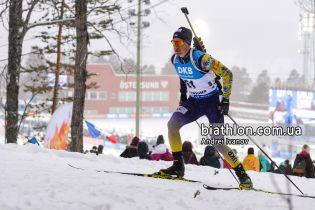 Биатлон. Семенов показал лучший результат среди украинцев в спринте на Чемпионате Европы