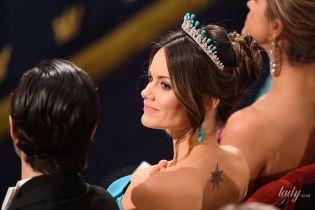 На світській церемонії: шведська принцеса Софія засвітила своє татуювання