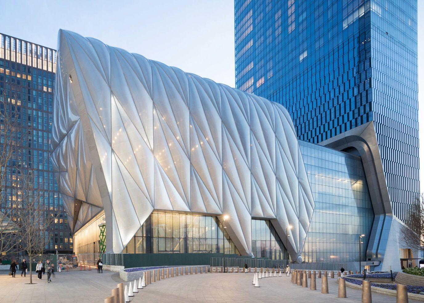 Арт-центр The Shed в Нью-Йорку