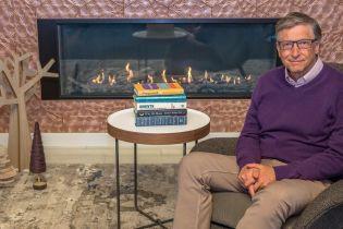 Білл Гейтс порадивп'ять книжок для читання взимку