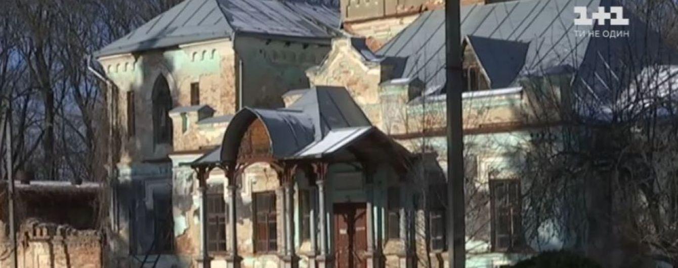 На Винничине селяне своими силами спасают исторический особняк графа Шереметьева