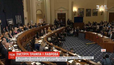 Закрытая встреча Трампа и Лаврова вызвала возмущение у многих конгрессменов