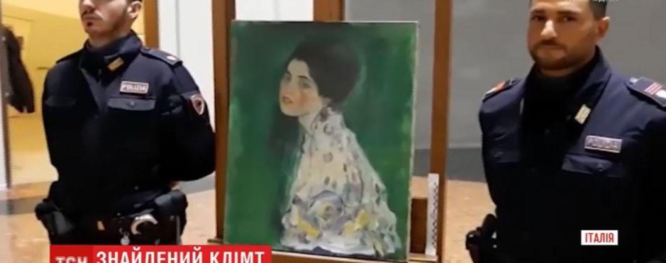 В Италии через 22 года после похищения нашли картину Климта